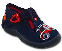 3F Chlapčenské topánky s hasičským autom - tmavo modré, EUR 24