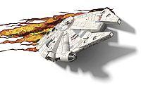 ADC Blackfire 3D svetlo Star Wars Millennium Falcon