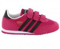 Adidas Dievčenské tenisky DRAGON J - ružové, EUR 31