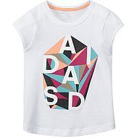 Adidas Dievčenské tričko LG RI CO TEE AK1960, 116 cm