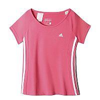 Adidas Dievčenské tričko, ružové, 128 cm