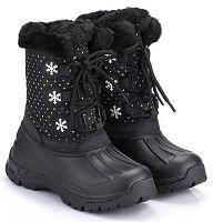ALPINE PRO Dievčenská zimná obuv Tanggoi - čierna, EUR 32