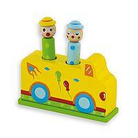 ANDREU Toys Vystreľovacie cirkus autíčko