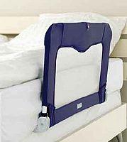 Baby Dan Cestovná zábrana k posteli + taška, modrá, 90 cm