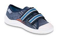 Befado Chlapčenské tenisky s nápisom Tim - modré, EUR 28