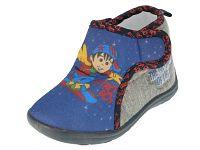 Beppi Chlapčenské papučky Nitro boy - modro-šedé, EUR 27