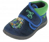 Beppi Chlapčenské voňavé papučky Nitro boy - tmavo modré, EUR 18