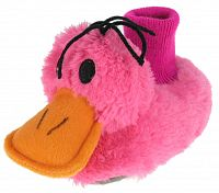Beppi Dievčenské plyšové papučky Kačenka - ružové, EUR 27