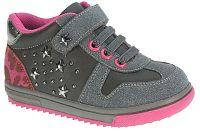 Beppi Dievčenské tenisky s hviezdičkami - šedé, EUR 24