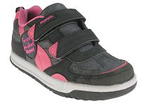 Beppi Dievčenské tenisky s nápisom - šedo-ružové, EUR 27
