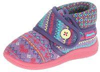 Beppi Dievčenské voňavé členkové papučky - fialové, EUR 26
