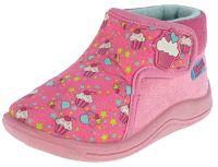 Beppi Dievčenské voňavé papučky s tortičky - ružové, EUR 20