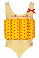 Beverly Kids Dievčenské nadnášajúca plavky - žlté, 110 cm
