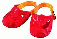 BIG Červené ochranné návleky na topánočky