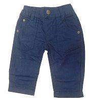 Blue Seven Chlapčenské nohavice - modré, 74 cm