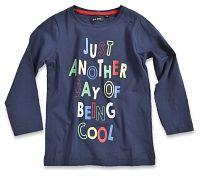 Blue Seven Chlapčenské tričko Being cool - modré, 98 cm