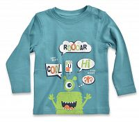 Blue Seven Chlapčenské tričko Roooar - modré, 68 cm