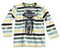 Blue Seven Detské pruhované tričko Wild - farebné, 104 cm