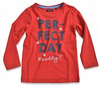 Blue Seven Detské tričko Perfect day - červené, 128 cm
