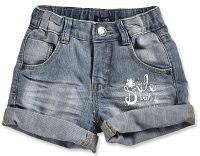 Blue Seven Dievčenské džínsové kraťasy - modré, 92 cm
