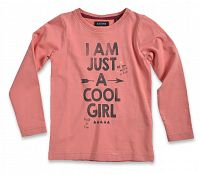 Blue Seven Dievčenské tričko Cool girl - červené, 116 cm