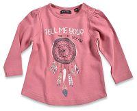 Blue Seven Dievčenské tričko Dream - ružové, 80 cm