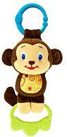 Bright Starts Hračka na C krúžku Tug Tunes s melódiou - Opica