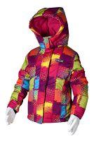 Bugga Dievčenská lyžiarska bunda - farebná, 110 cm
