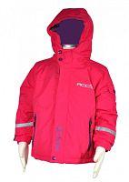 Bugga Dievčenská zimná lyžiarska bunda - ružová, 104 cm