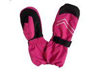 Bugga Dievčenské lyžiarske palcové rukavice - ružové