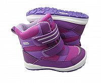 Bugga Dievčenské zimné topánky s membránou - ružovo-fialové, EUR 25