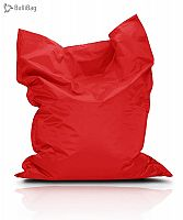 BulliBag Sedací vak - červený, 145x100 cm