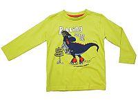 Carodel Chlapčenské tričko s dinosaurom - zelené, 116 cm