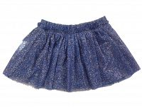 Carodel Dievčenská nariasená sukňa - modrá, 92 cm