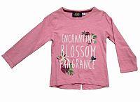 Carodel Dievčenské tričko s rozparkom - ružové, 122 cm
