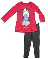 Carodel Dievčenský komplet trička a legín - farebný, 116 cm