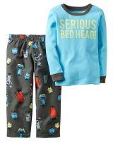 Carter's Chlapčenské pyžamo s príšerkami - farebné, 80 cm