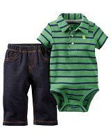 Carter's Chlapčenský dojčenský komplet - farebný, 68 cm