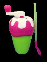 Chill Factor Milkshake Maker výroba mliečneho kokteilu - ružová / zelená