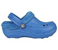 Coqui Detské sandále Coqui s kožušinkou - modré, EUR 30/31