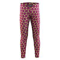 Craft Dievčenské funkčné nohavice Mix and Match - ružovo-zelené, 98-104 cm