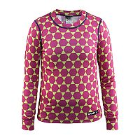 Craft Dievčenské funkčné tričko Mix and Match - ružovo-zelené, 110-116 cm