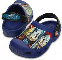 Crocs Chlapčenské sandále Creative Crocs Avengers III Cerulean Blue, EUR 27/29