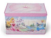 Delta Látková truhla na hračky Princezné