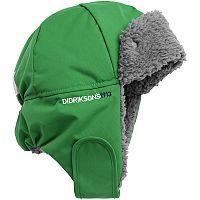 Didriksons1913 Chlapčenská čiapka Biggles - zelená, 56 cm