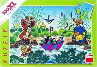 Dino Puzzle Krtko Krtkova plavba100 dielikov XXL