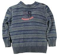 Dirkje Chlapčenský sveter 56 - modro-šedý, 80 cm