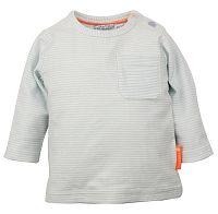 Dirkje Detské prúžkované tričko - svetlo modré, 68 cm