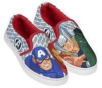 Disney Brand Chlapčenské nazúvacie tenisky Avengers - farebné, EUR 31
