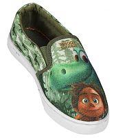 Disney Brand Chlapčenské nazúvacie tenisky Dobrý Dinosaurus - zelené, EUR 27